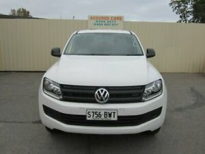 2015 Volkswagen Amarok 2H MY15 TDI400 Core Edition (4x4) White 6 Speed Manual Dual Cab Utility Windsor Gardens Port Adelaide Area Preview