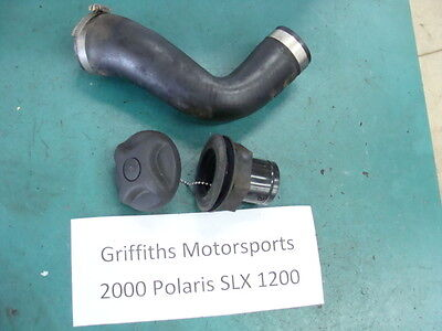 00 polaris SLX 1200 pro? virage? genesis? 99? 01? gas fuel cap filler hose neck