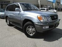 2001 Lexus LX 470 **LOCAL, ONE OWNER UNIT with CLEAN CARPROOF**