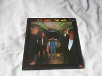 Vinyl LP It's Hard The Who Polydor WHOD 50666 Stereo 1982