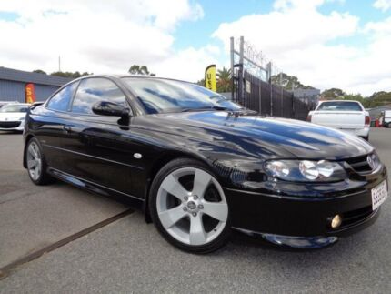 2002 Holden Monaro V2 CV8 Black 4 Speed Automatic Coupe Pooraka Salisbury Area Preview