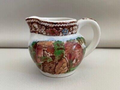 Staffordshire England Vintage Midwinter Semi-porcelain Chintz Double Handled Sugar Bowl