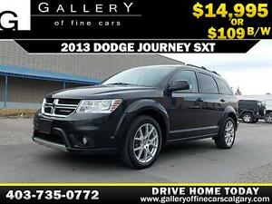 2013 Dodge Journey SXT  $109 BI-WEEKLY APPLY NOW DRIVE NOW