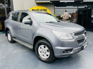 2015 Holden Colorado 7 RG MY15 LT Grey 6 Speed Sports Automatic Wagon Campbelltown Campbelltown Area Preview