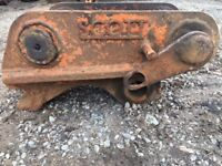 SCOTT Semi Quick Hitch - 65mm Pin. Suit digger excavator hitachi coupler and more