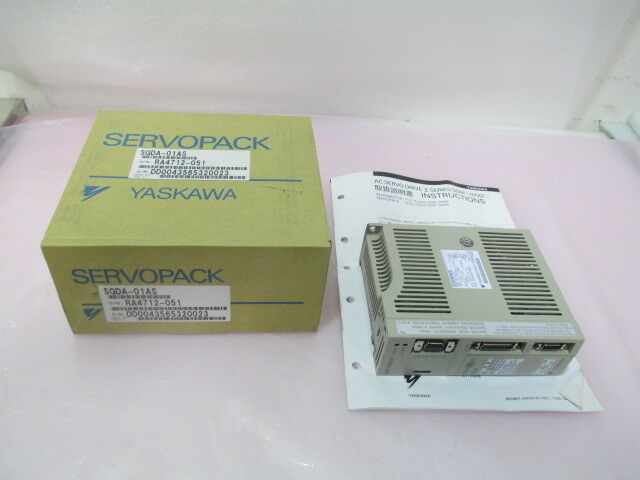 Yaskawa SGDA-01AS, Servopack Servo Drive, Amplifier, AMAT 0870-01010. 416952