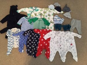 Big Lot of Super Cute 0-3Months Clothes/Sleepers/Hats/Booties