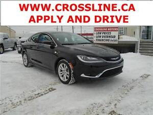 2015 Chrysler 200 LIMITED|HEATED SEATS|BLUETOOTH|TOUCH SCREEN