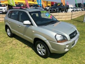 2009 Hyundai Tucson JM MY09 City SX Silver 4 Speed Sports Automatic Wagon Wangara Wanneroo Area Preview