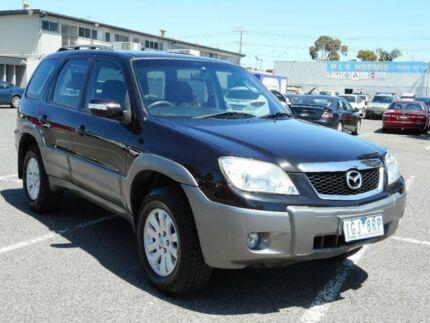 2007 Mazda Tribute MY06 V6 Black 4 Speed Automatic Wagon Maidstone Maribyrnong Area Preview