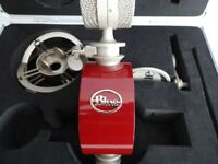 Blue Reactor Microphone