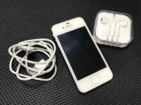Apple iPhone 4S white 16GB unlocked all networks