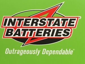 Interstate Batteries -Truck size - with warranty