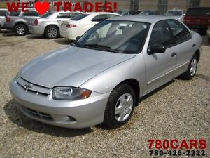 2004 Chevrolet Cavalier - 4 CYLINDER - NEW TIRES - WE DO TRADES