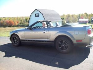 2008 Ford Mustang Pony package Convertible