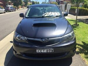 2009 Subaru Impreza WRX PREMIUM Grey Manual Sedan Croydon Burwood Area Preview