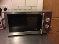 Prestige Stainless Steel microwave working