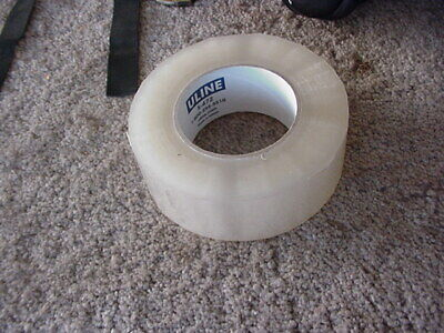 1 Roll Uline Clear Package Tape 2 X 22o Yards 2 Mil New