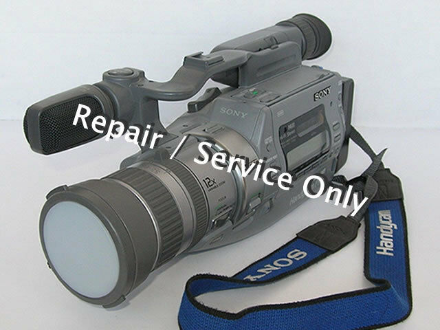 REPAIR / SERVICE for SONY CCD-VX3 Hi8 3CCD Video Camera (*READ 1st*)