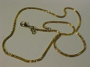 "22k Yellow Gold chain/necklace Hallmarked 20"" long and weighs 10.5 grams -FREE shipping in CANADA ONLY-5 more 22k listed"