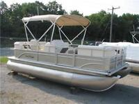 18' Pontoon Boat +  25HP 4-STROKE--- BEST PRICE IN CANADA!---