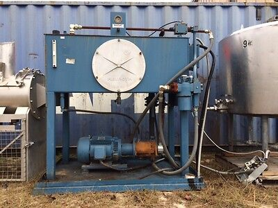 Skid Mounted 15 Hp With 500 Gallon Holdin Tank Basic Technologies Hydraulic Unit