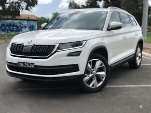 2019 Skoda Kodiaq NS MY19 132TSI DSG White 7 Speed Sports Automatic Dual Clutch Wagon Nailsworth Prospect Area Preview