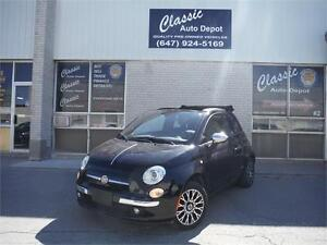 2012 FIAT 500C ** CONVERTIBLE ** GUCCI EDITION ** AUTOMATIC **