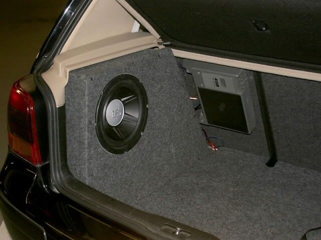 rare genuine auto acoustics stealth box for vw golf mk4 gt. Black Bedroom Furniture Sets. Home Design Ideas