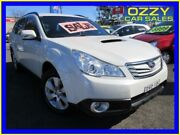 2009 Subaru Outback MY10 2.0D Premium (Sat-Nav) White 6 Speed Manual Wagon Minto Campbelltown Area Preview