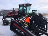Macdon M155 Swather and D65-D Draper Header Brandon Brandon Area Preview
