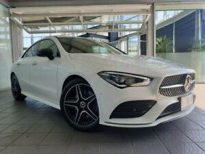 2019 Mercedes-Benz CLA-Class C118 809MY CLA200 D-CT White 7 Speed Sports Automatic Dual Clutch Coupe North Hobart Hobart City Preview