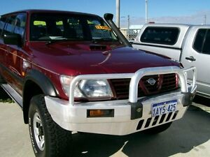 2001 Nissan Patrol ST BRUNSWICK V8 DIESEL 6.5  Red Manual Wagon Wangara Wanneroo Area Preview