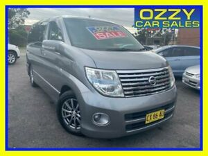 2005 Nissan Elgrand E51 Silver 5 Speed Automatic Wagon Minto Campbelltown Area Preview