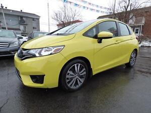 2016 HONDA FIT EX-L (AUTOMATIQUE, NAVI, CUIR, TOIT, MAGS, FULL!)