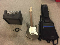 Colt Electric Guitar & Rolland Amp