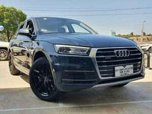 2018 Audi Q5 FY MY18 TDI S Tronic Quattro Ultra design Grey 7 Speed Sports Automatic Dual Clutch Hoppers Crossing Wyndham Area Preview