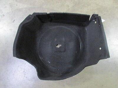 Black Exterior Tub (Maserati Ghibli, Rear Trunk Tub Carpet, Black, Used, Damaged, P/N)