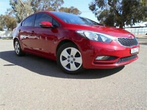 2013 Kia Cerato TD MY13 S Red 6 Speed Sports Automatic Sedan Broken Hill Central Broken Hill Area Preview