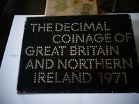 COINAGE OF GREAT BRITAIN & NORTHERN IRELAND 1971.