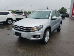 2013 Volkswagen Tiguan AWD HIGHLINE TSI Navigation (GPS),  Leath