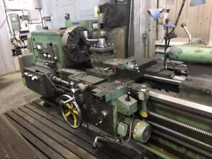 STANKO Model 1M63Bx3000 Heavy Duty Lathe with Power Feed and Rapid to Compound