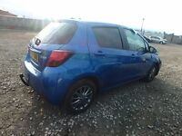 TOYOTA YARIS ICON 1329 CC PETROL 2016 REG 5 DOOR (BREAKING ALL PARTS AVAILABLE)