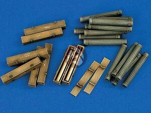 Verlinden-1-35-SuperValue-88mm-German-Ammo-Crates-WWII-24-Wood-48-Metal-1102