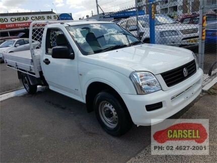 2004 Holden Rodeo RA White Manual Cab Chassis Campbelltown Campbelltown Area Preview