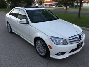 2010 MERCEDES BENZ C250 4MATIC NAVI SUNROOF BLUTOOTH LIKE NEW