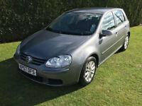 2007 Volkswagen Golf 1.6 Match 5dr - Grey - 110k miles - FSH - Nice example
