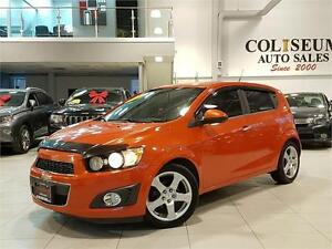 2012 Chevrolet Sonic LTZ-LEATHER-SURNOOF-LOADED