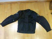 Buffalo Motorcycle Summer Jacket Size M