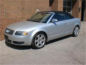 2005 Audi S4 Base Convertible + Big v8 power